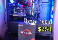 AMD Ryzen 5 1600X Processor Best CPU for gaming 2018