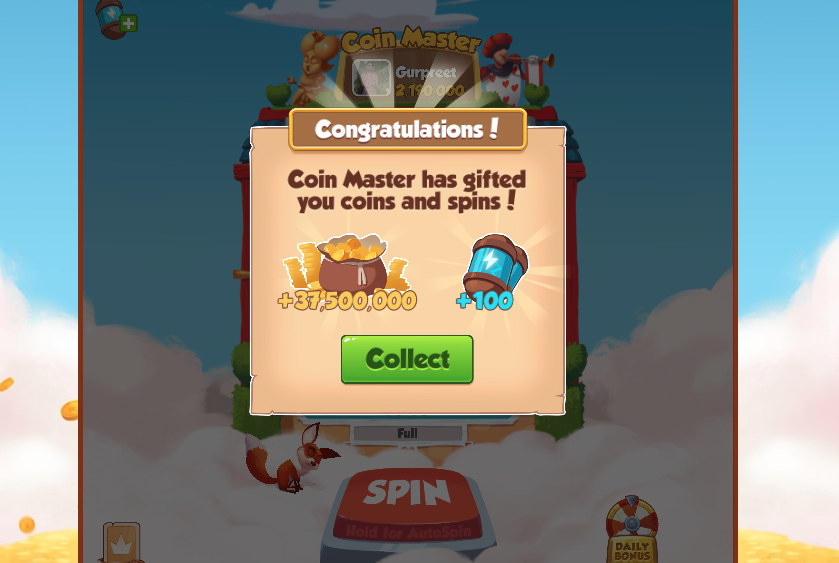 50 Free Spins Coin Master