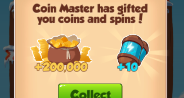 10 Spin link and 2.5m coins