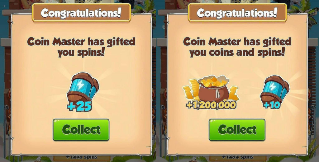 Free 35 spins and 1.5M Coins
