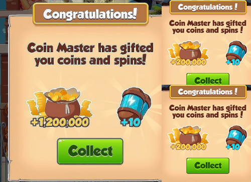 30 spins and 8.5M Coins