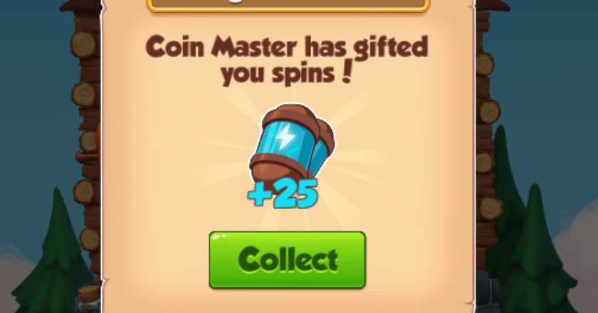 Free 25 spins and 6.5M link